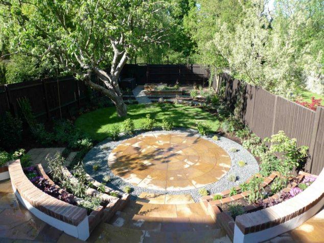 senderos y caminos de piedras en el jardin 11