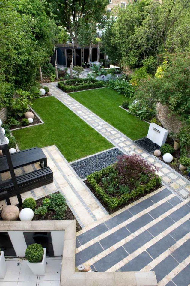 senderos y caminos de piedras en el jardin 5
