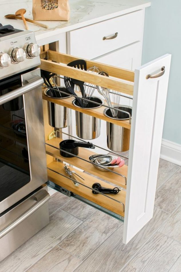 15+ Brillantes Soluciones de Almacenamiento de Cocina
