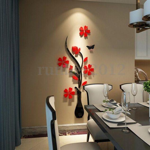 Estupendos vinilos decorativos para las paredes de tu hogar for Adornos en la pared