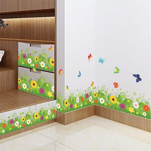 Estupendos vinilos decorativos para las paredes de tu hogar - Pegatinas decorativas para banos ...