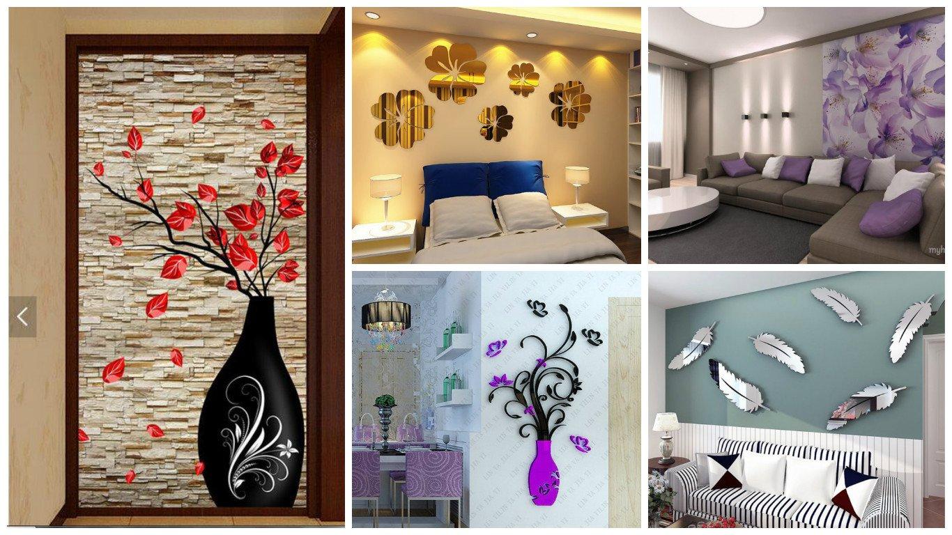 Estupendos vinilos decorativos para las paredes de tu hogar for Vinilos decorativos hogar
